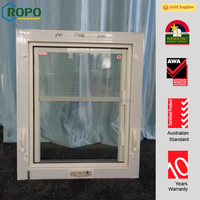 TOP 10 PVC profile casement window with blinds