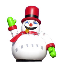 2017 inflatable Christmas Santa cartoon decoration/inflatable snowman Christmas snowman decor