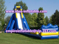 Giant Inflatable water slide beach slide hippo slide ID-SLL002