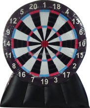 giant inflatable soccer foot dart game,infatable dart board for sale