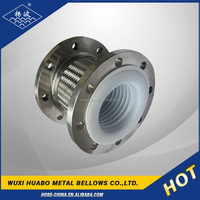 Metal building materials ptfe expansion joint in pipe fittings