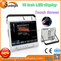 Touch Screen color doppler 3d 4d ultrasound pictures