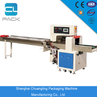 ZS-X350 Series Automatic down Paper Horizontal Pillow Type Packing Machine