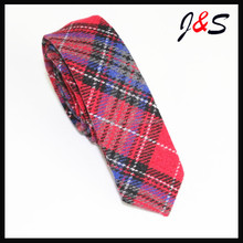 wholesale 2017 new design mens fashion thick wool tie