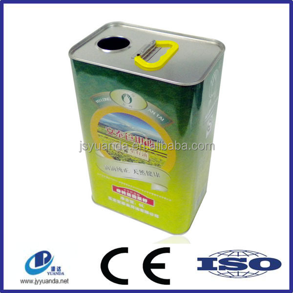 Guaranteed quality hot sale edible oil 20 litres tins