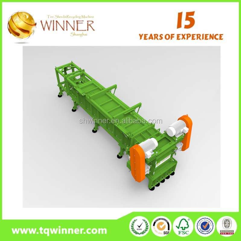 TIS Series recycling plastic and aluminum shredder