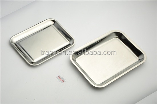 Stainless Steel Square Cash Tray Change Tray