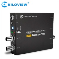 Video to ip converter dvi vga cvbs to sdi network converter