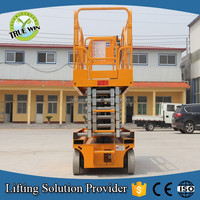DC Battery power hydraulic lifter / mobile scissor lift