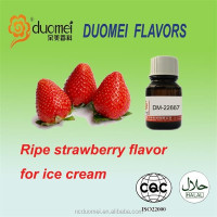 Ripe strawberry flavour food enhance ice cream flavor artificial fruit flavor