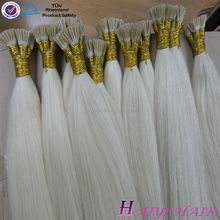 2016 New Arrival Last 12 Months Full Cuticle Double Drawn i tip hair 2g strands i tip hair extensions