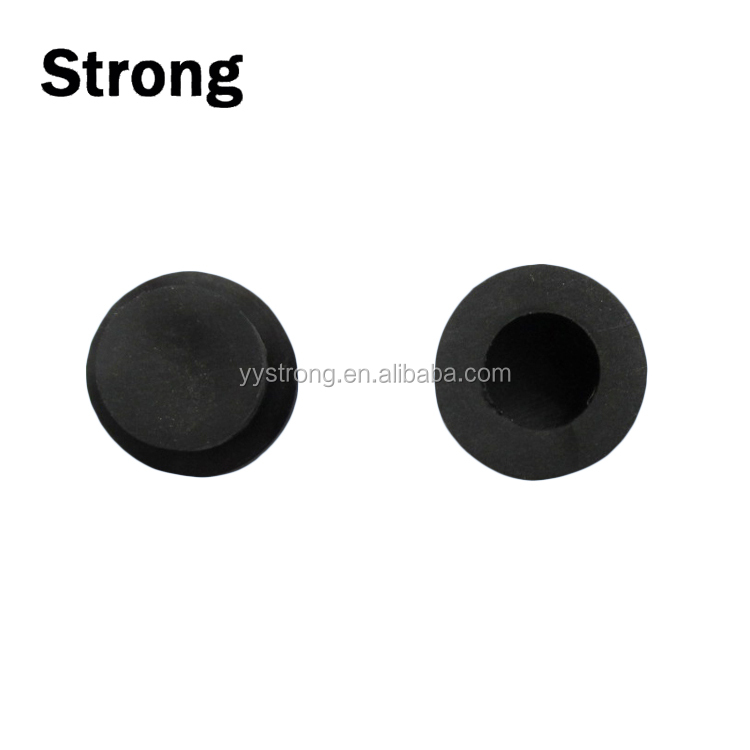 China custom made silicone sealing molded hardness 50-80 angled rubber grommet