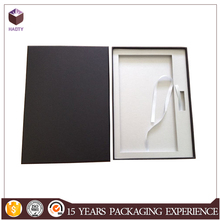 Luxury handmade paper dvd packaging box