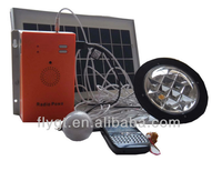5W portable mini solar system with buletooth, MP3 and FM Radio