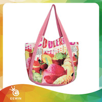 Wholesale Recycling 8 oz Canvas Full Color Printing Tote Bag