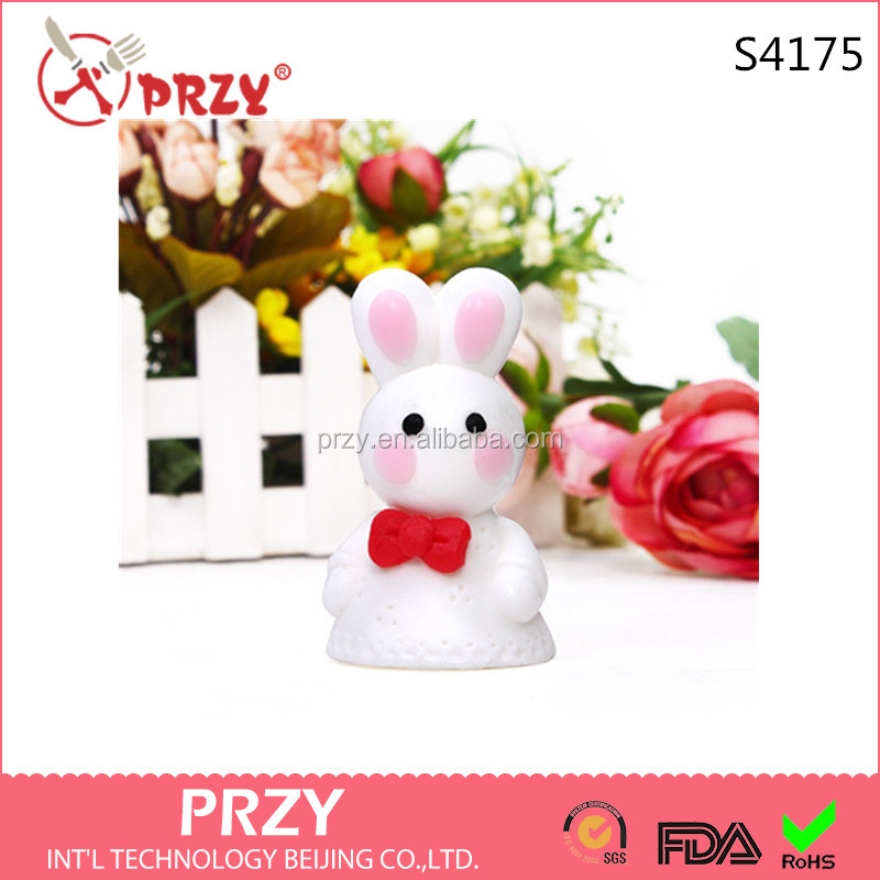 rabbit handmade soap mold silicone 3d molds for candle