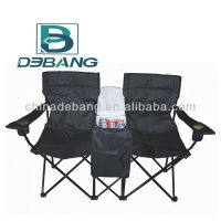 Camping Double Camping Chair With Cooler