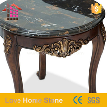 Best price of pink marble table with elephant sculpture beautiful design for home use