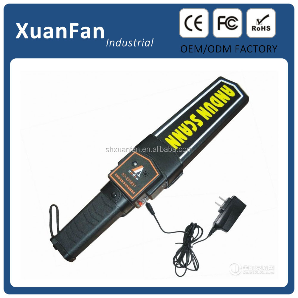 super scanner metal detector extra sensitive hand held metal detector hand held metal detctor trade assurance factory