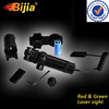 BIJIA 2 Mounts Switch Tactical Power 532nm Green Dot Adjustable Laser Sight Scope w/