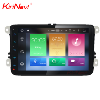 KiriNavi WC-VU8000 8 core android 6.0 stereo for vw Passat full touch screen without DVD car audio gps BT 3g TV