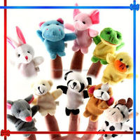 MW049 cute dog plush child bed story toy