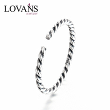 Plain 925 Silver Ring Fashion Adjustable Size