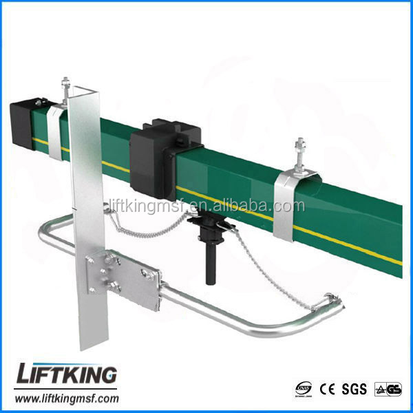 LIFTKING HFP56 Enclosed Conductor Rails System Multi-pole Crane Copper Conductor Busbar System 4 Poles Insulated Conductor Bar