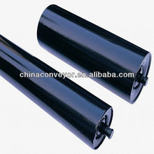 Rubber roller for belt conveyor