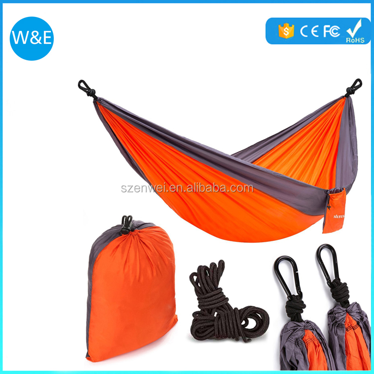 Hot sale hammock swings Double parachute portable hammock with hammock straps