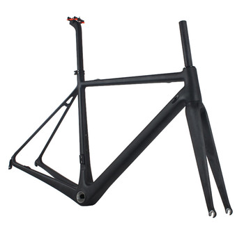 Comfortable Riding Super Light Carbon Road Bike Frame For Seatpost Included