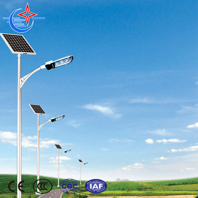 Innovative energy saving solar system energy street light