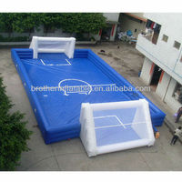 FT46 inflatable soccer training dummy arena set