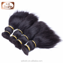 Wholesale Factory Brazilian Virgin Human Bulk Hair for Wig Making Very Silky And Soft Hand Feeling