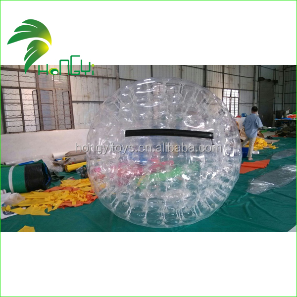 customized inflatable zorb ball made by hongyi/inflatable zorb balloon