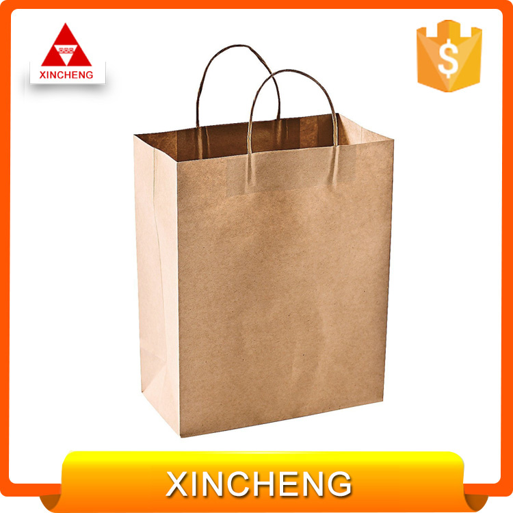 Craft and scarf packaging cheap price paper bag china wholesale