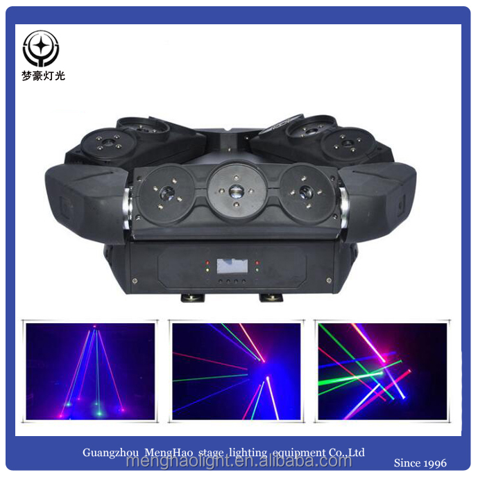 Led disco light 9 bird head laser stage beam light moving head light