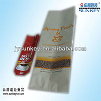aluminum foil coffee packaging instant coffee bag