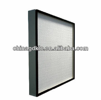 how to clean sharp hepa filter