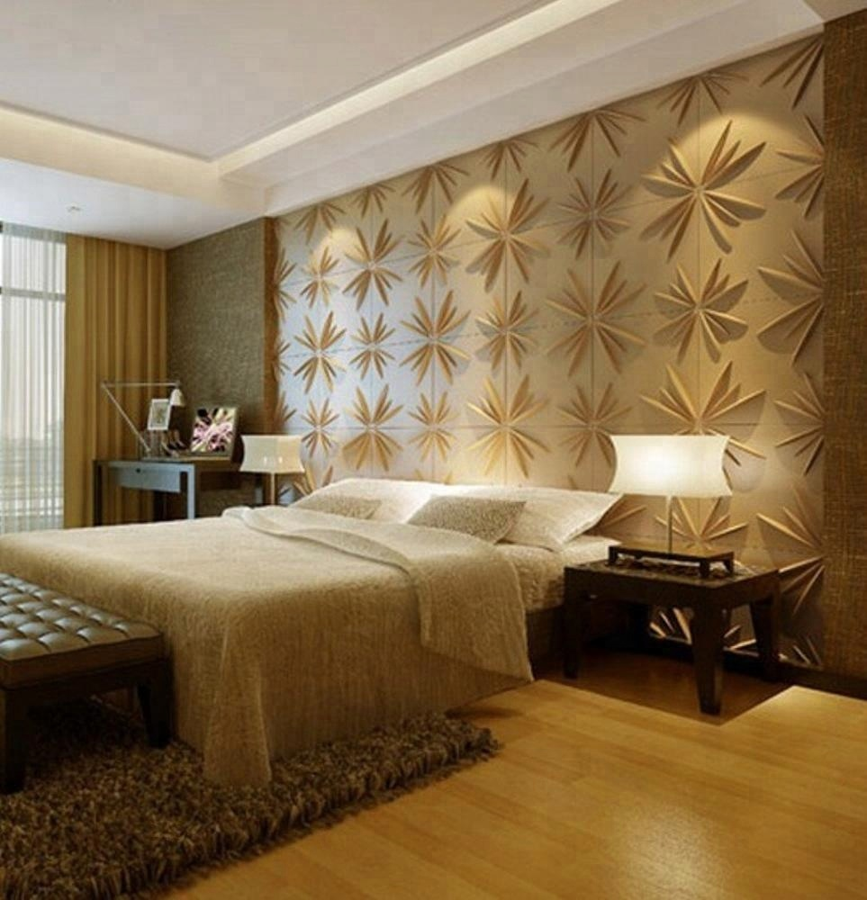 Supply New Upscale Unique 3d Wall Covering Noble Elegant Bedroom