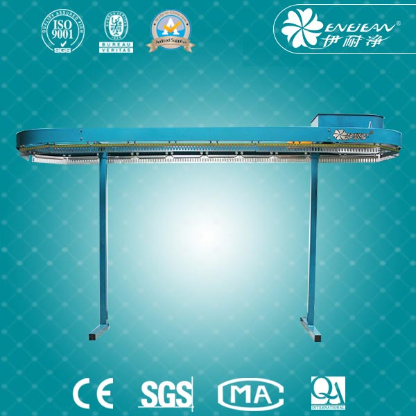 Hot sale automatic clothes conveyor for hotel dry clean shop laundry for wholesales