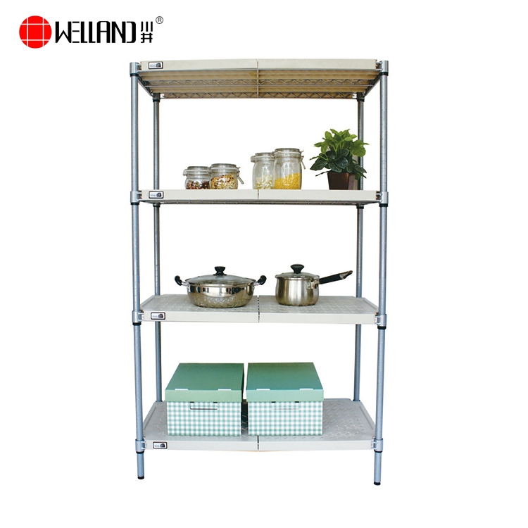 Restaurant Wire Shelving | Patent Restaurant Coldroom Plastic Wire Shelving With Washable Pp