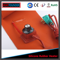 HEATFOUNDER 120V 1500W silicone heater for 55 gallon oil drum
