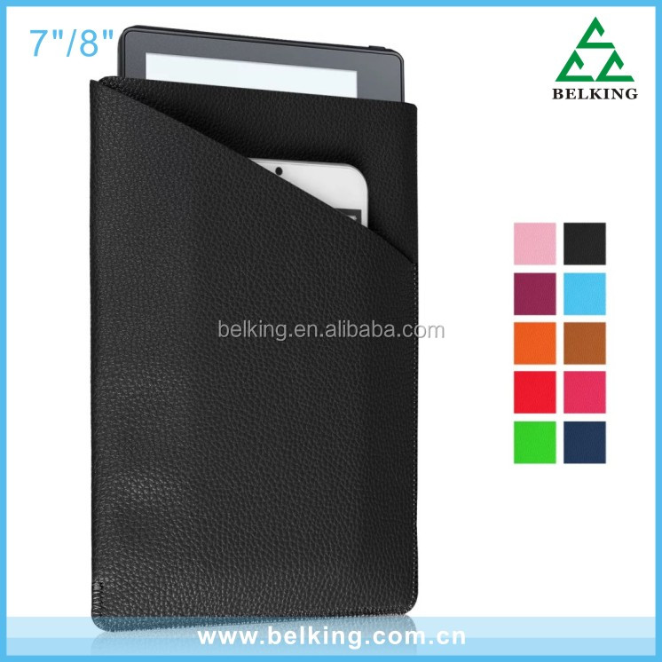 "Universal tablet flip leather case for 7"" 8"" tablet Pouch"