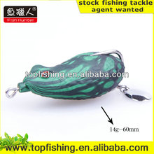 wholesale plastic soft fishing lure worm bait frog lure