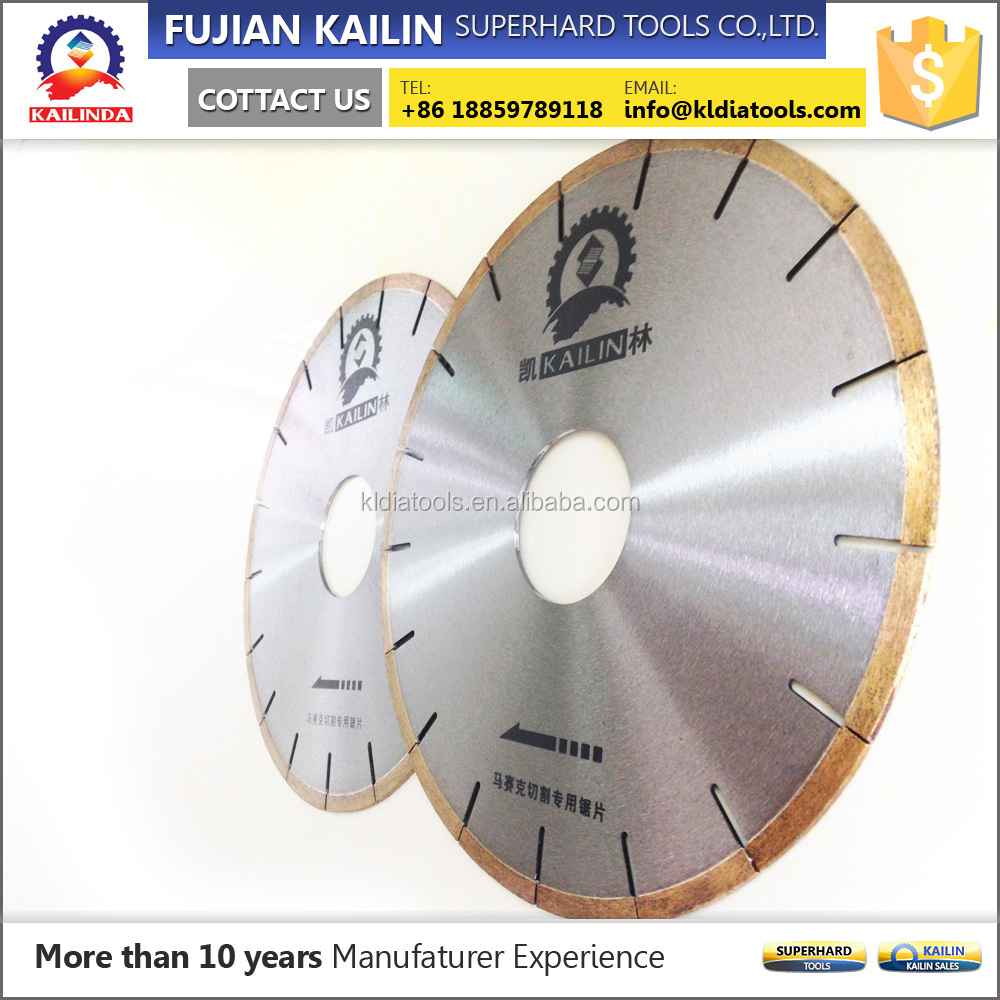 multifunction superior quality creamic tile saw blade