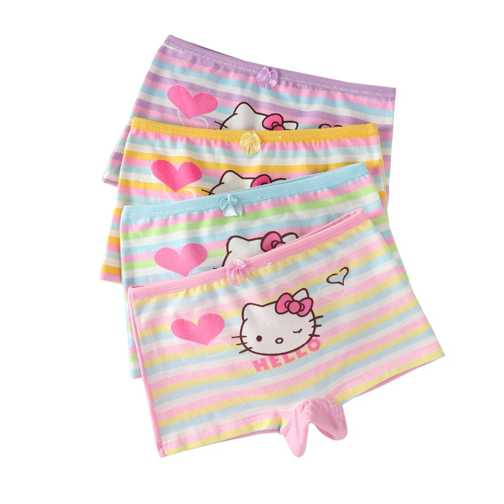 Little child modeling panties anti static safe underwear boutique children boxer brief