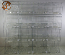 Racing pigeon breeding cage for breeding pigeon