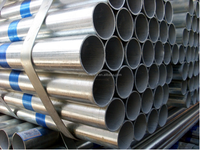 Tianjin gi pipes ! galvanized pipe with blue ribbon large stock galvanized steel tube
