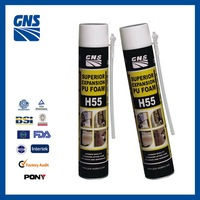 pu foam spray adhesive 750ml corrosion prevention and electrical insulation pu foam sealant